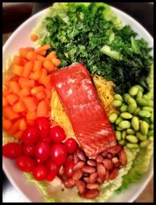 """Asian """"Noodle"""" Salad"""