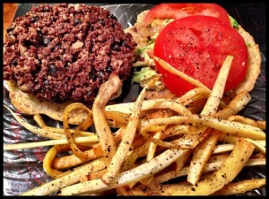"""Burger"" and ""Fries"""