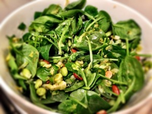 Lucky Green Salad