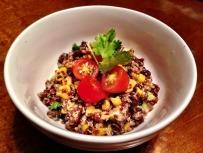 Black Bean, Roasted Corn & Avocado Quinoa Salad