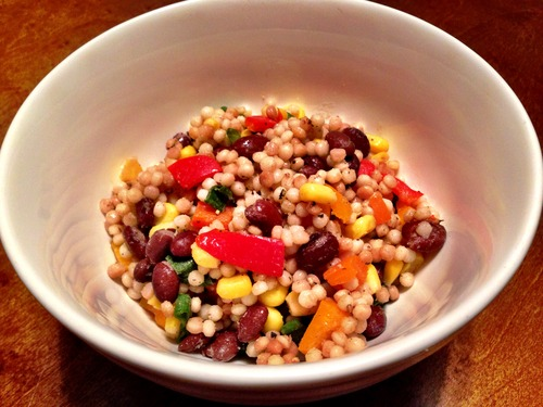 Black Bean Couscous Salad