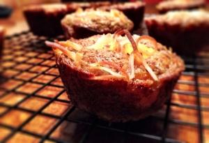 Paleo Peach Coconut Muffins