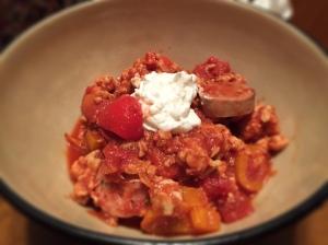 Spicy Turkey Chili With Greek Yogurt