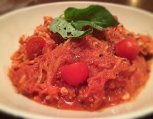 Traditional Marinara Turkey Spaghetti Squash