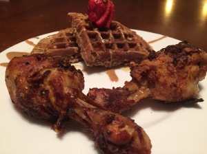 Paleo Chicken and Waffles