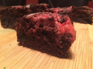 Strawberry Swirl Paleo Brownies