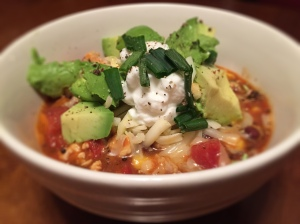 Sweet Potato Turkey Chili