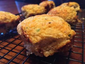 Cauliflower Jalapeño Cheddar Biscuits
