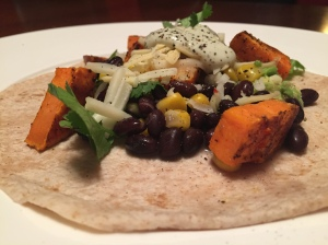 Sweet Potato and Avocado Soft Tacos