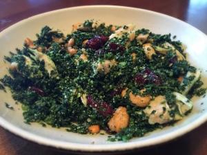 Quick Kale Chicken Salad