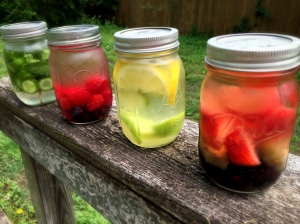 Naturally Infused Summer Water
