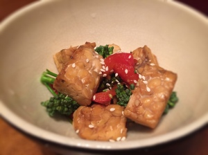Stir Fried Broccoli and Tempeh