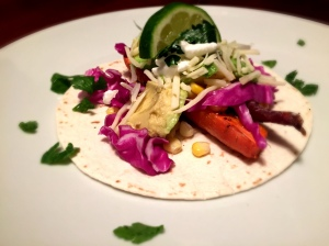 Roasted Carrots and Corn Veggie Tacos