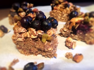 Vegan Blueberry Superfood Protein Bars