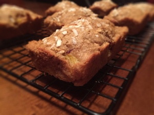 GF Coconut Peach Banana Bread