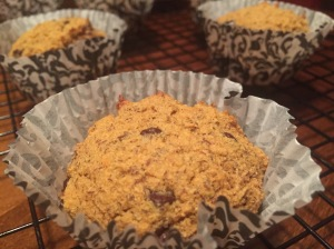 GF Sweet Potato Chocolate Chip Muffins
