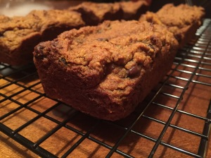 Paleo Pumpkin Pie Chocolate Chip Coffee Cake
