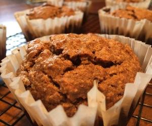 Paleo Oatmeal Raisin Muffins