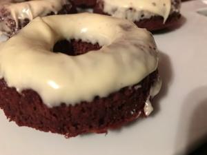 Paleo Red Velvet Donuts